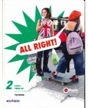 All Right versie 1 Textbook 2 LWOO/VMBO-BK