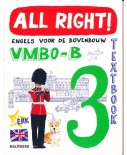 All Right! versie 2 Textbook 3 VMBO-B