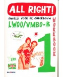 All Right! versie 2 Workbook 1 LWOO/VMBO-B