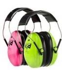 Koptelefoon gehoorbescherming/concentratie groen