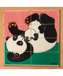 Educo puzzel pandamoeder met kind