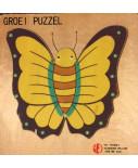 Groeipuzzel vlinder