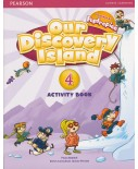 Discovery Island level 4 Activity Book 4 incl. CD-Rom