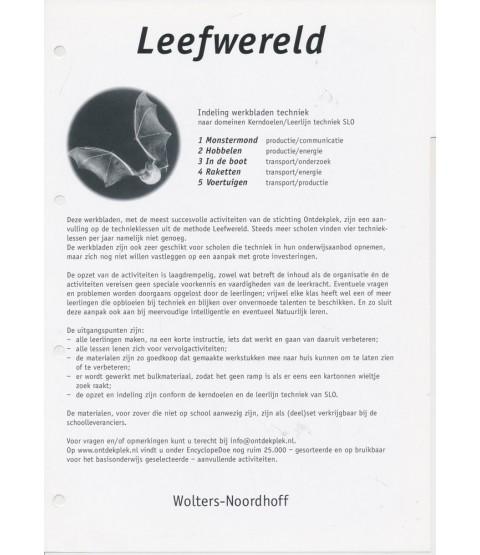 Magnifiek Leefwereld werkbladen Techniek groep 5, 6, 7 en 8 (zie omschr.) @UM39