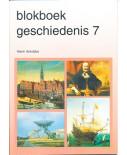 Blokboek geschiedenis groep 7 (per stuk)