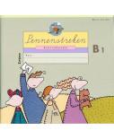 Pennenstreken schrijfboekje B1 (per stuk)