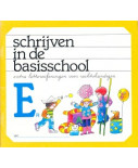 Schrijven in de basisschool (1) schrift E links (per stuk)