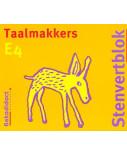Stenvert blok Taalmakkers E4 groep 4/5 (per stuk)